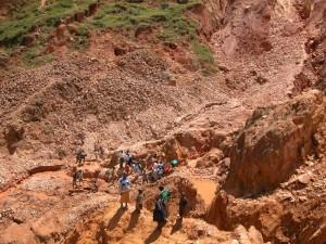 Umweltzerstörung durch Coltanabbau