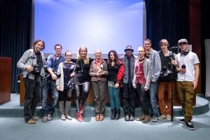 Die Initiatoren der Kampagne gemeinsam mit Jane Goodall und Lilian Klebow