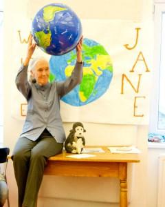 Jane Goodall in Wien
