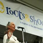 Jane Goodall, International Peace Day