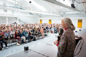 Jane Goodall bei der R&S-Lecture in Wien